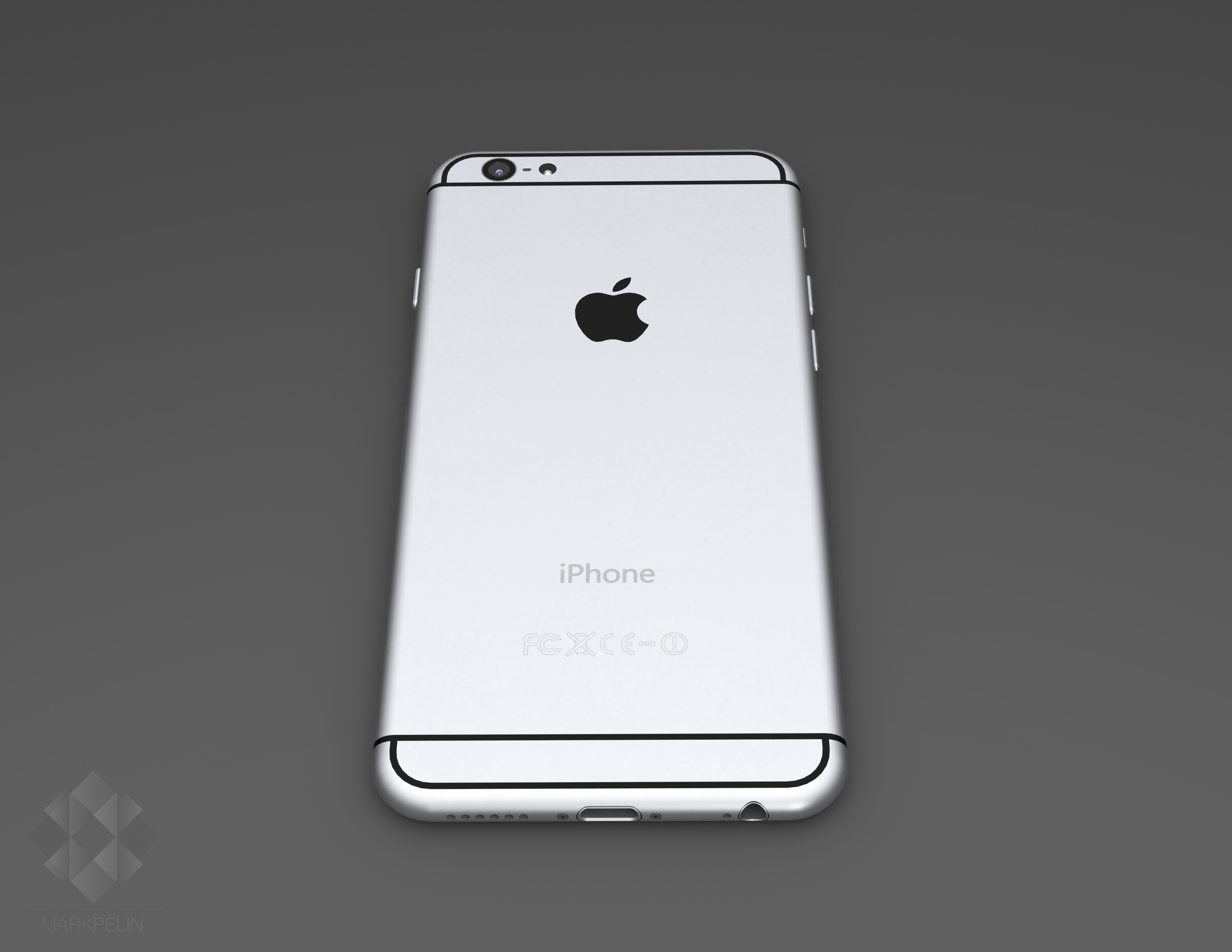 iPhone 6 render (Mark Pelin 002)