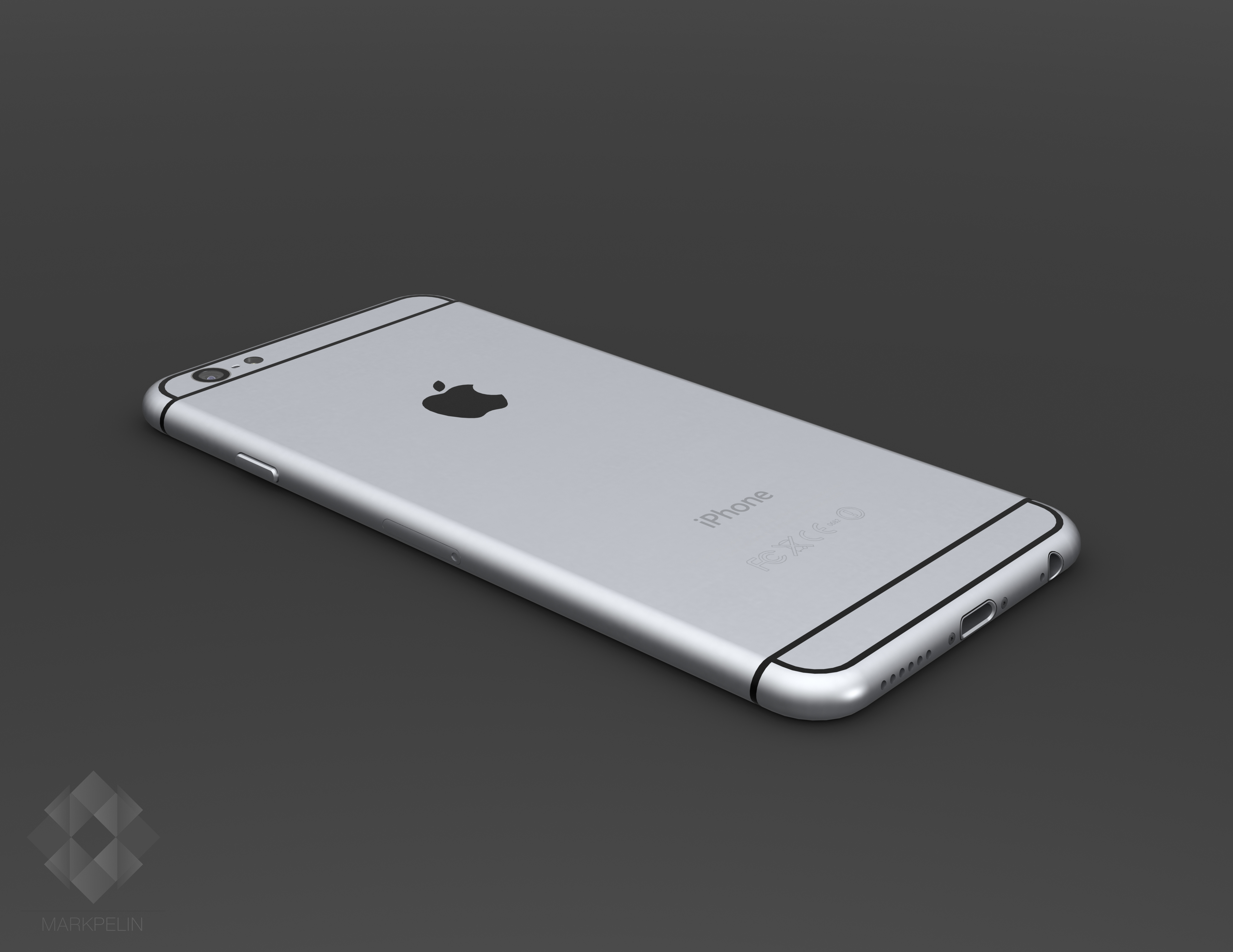iPhone 6 render (Mark Pelin 003)