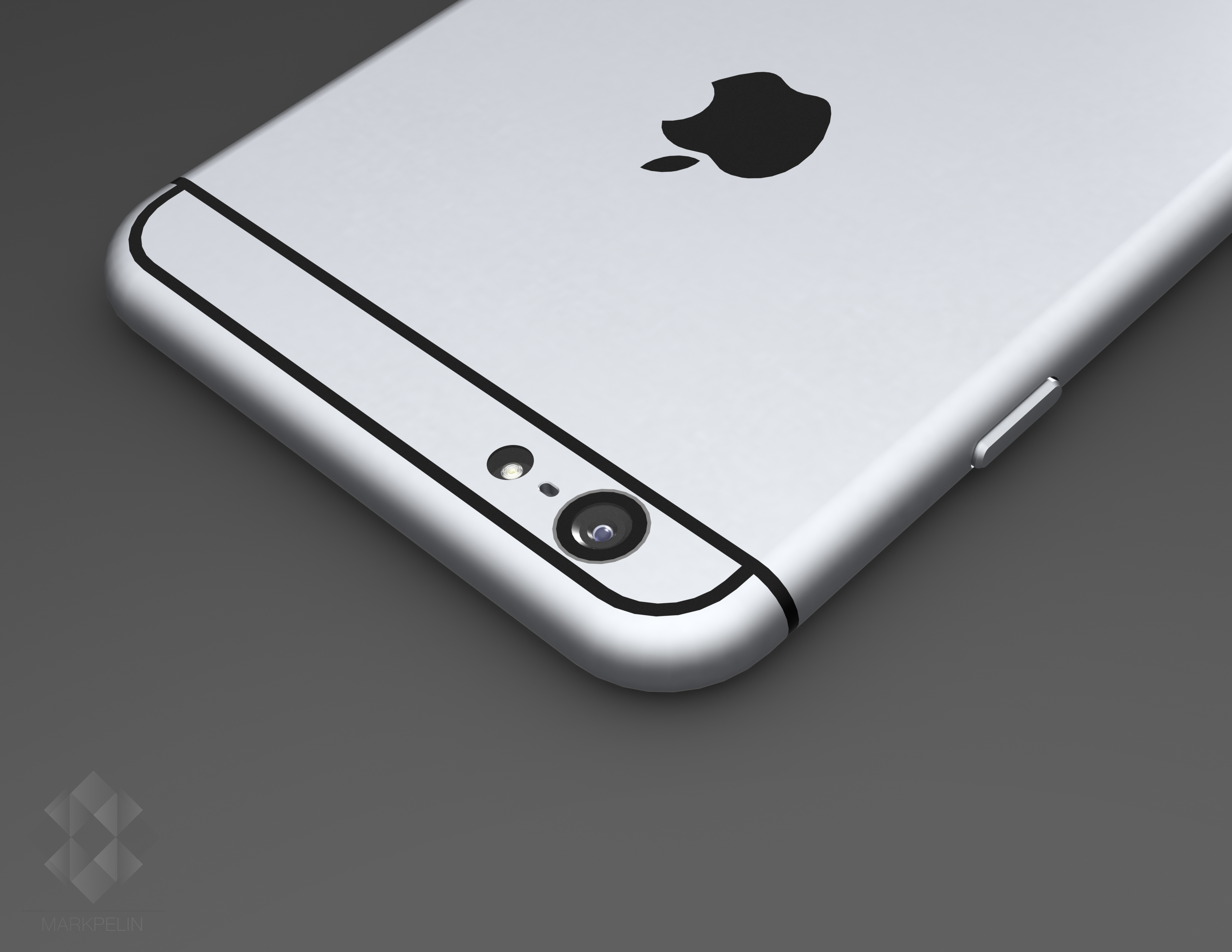iPhone 6 render (Mark Pelin 011)