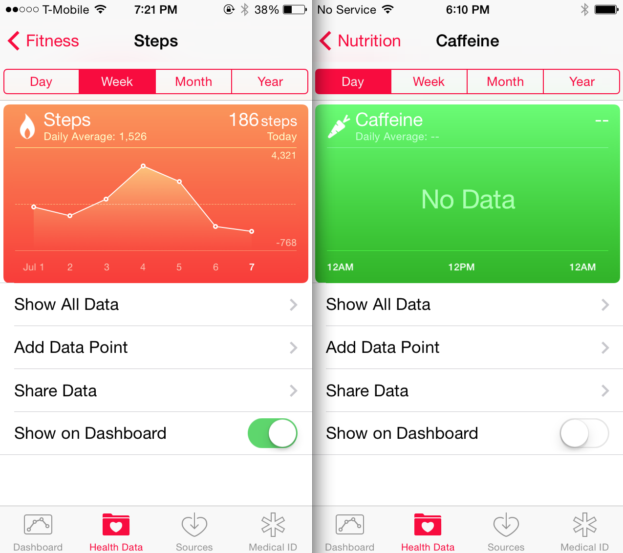 ios 8 beta 3 health