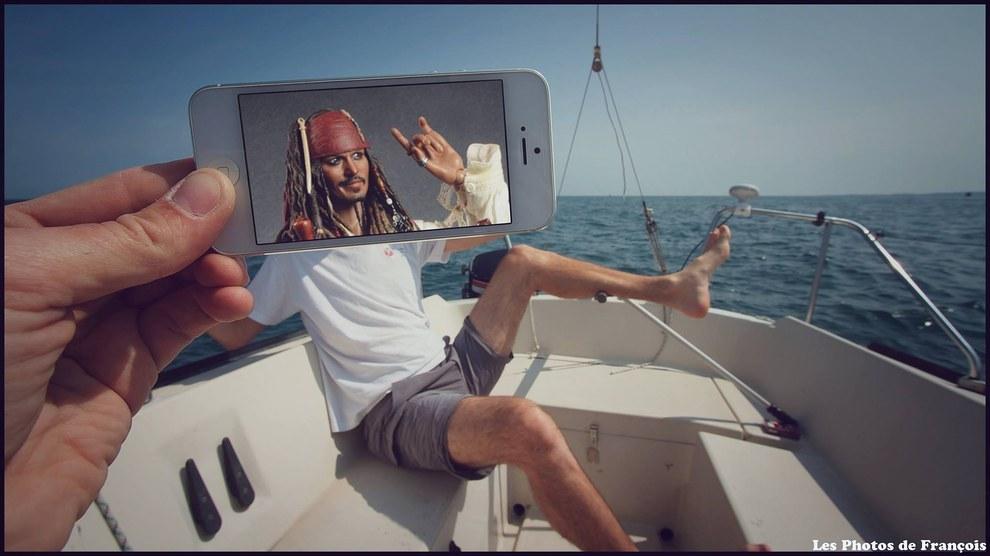 les photos de francois  pirates
