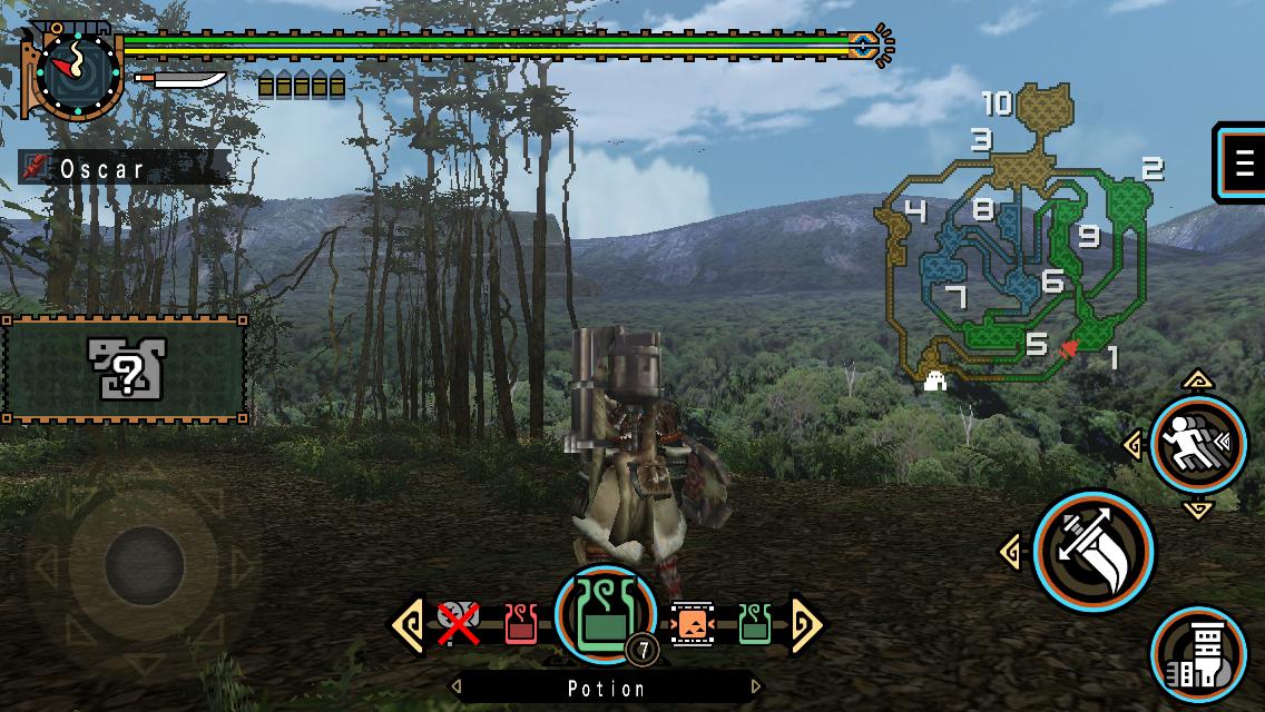 Capcom's iOS port of 'Monster Hunter Freedom Unite' now