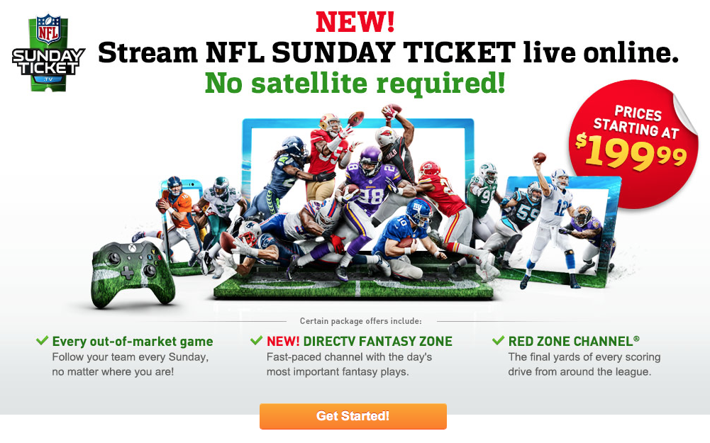 nfl sunday ticket ios