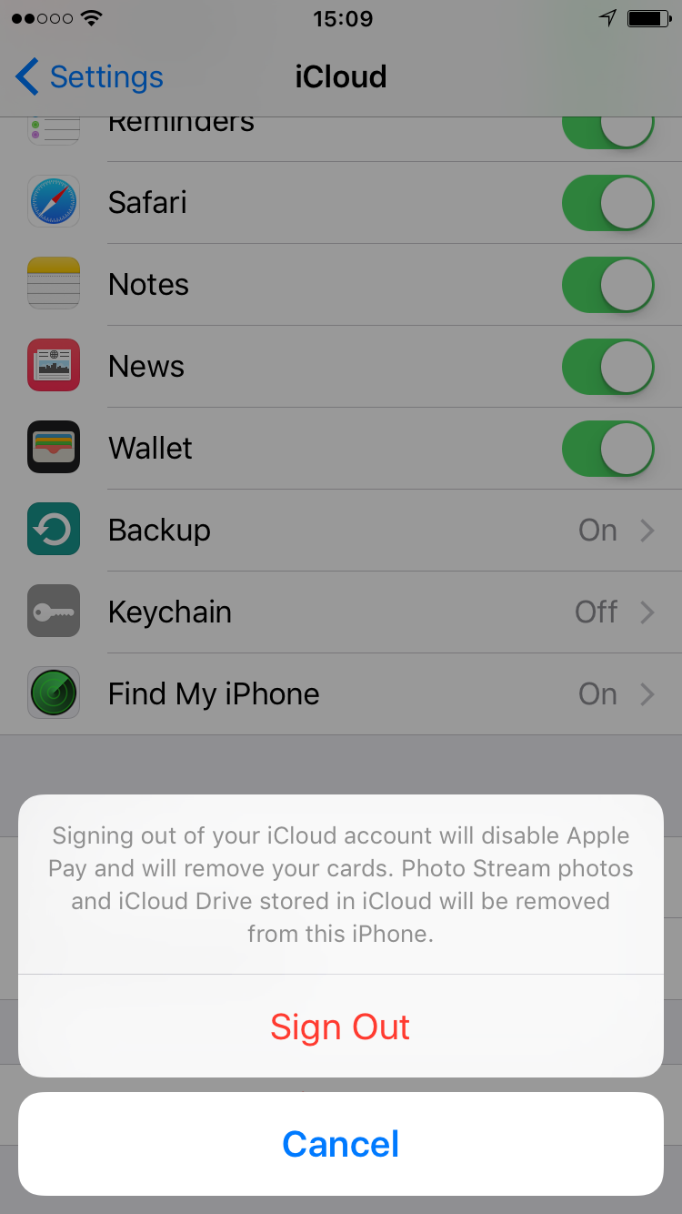 How to remove apple id from itunes