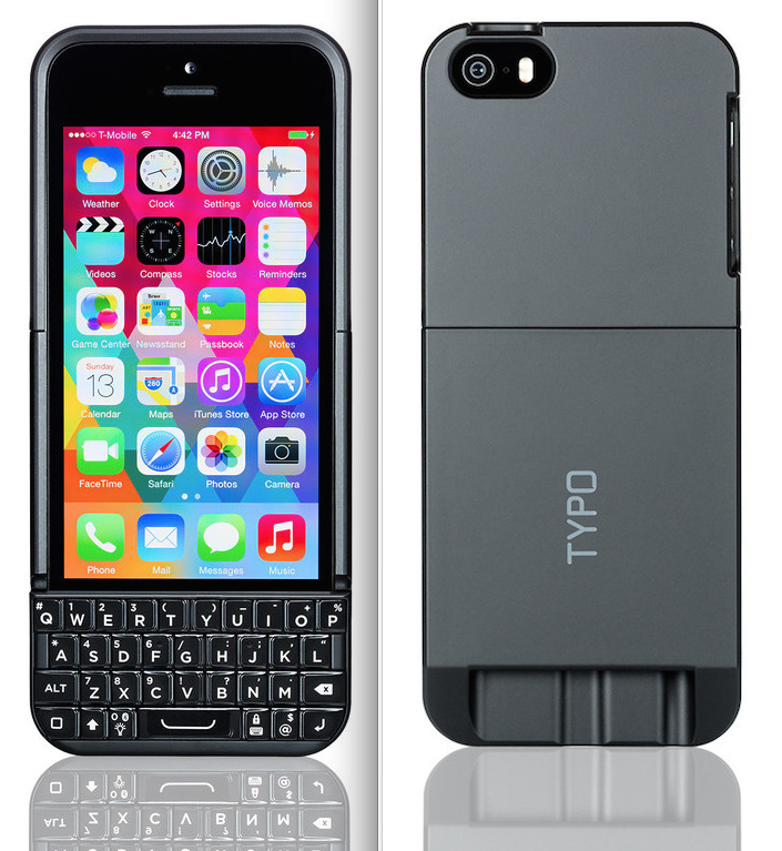 new arrivals b0e78 9e6f7 Redesigned Typo 2 iPhone keyboard case available for pre-order