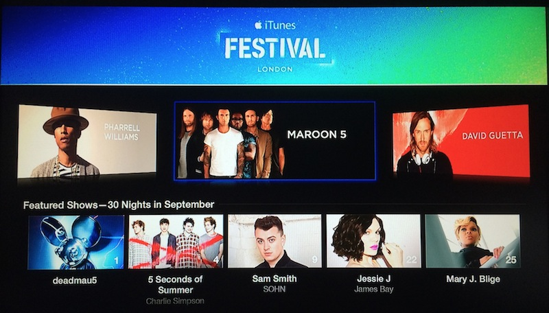 Apple TV (2014 iTunes Festival 002)