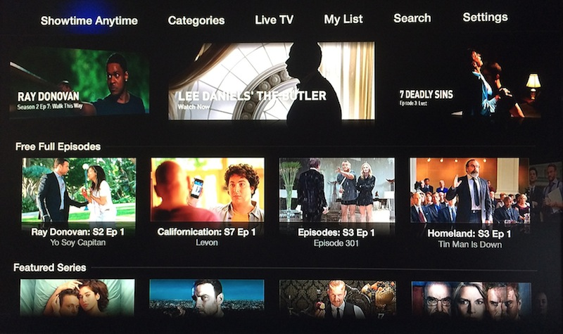 Apple TV (Showtime Anytime 002)