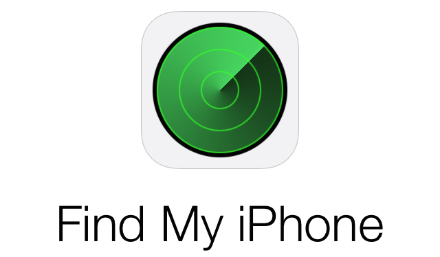 Find My iPhone logo name