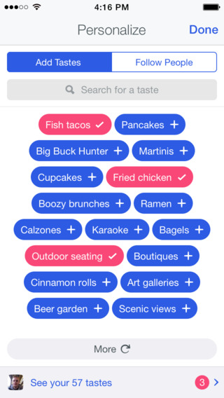 Foursquare 8.0 for iOS (iPhone screenshot 002)