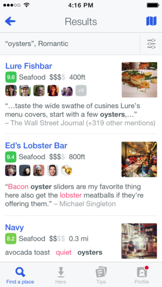Foursquare 8.0 for iOS (iPhone screenshot 003)
