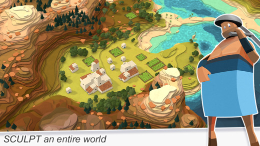 Godus 1.2 for iOS (iPhone screenshots 001)