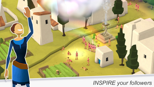 Godus 1.2 for iOS (iPhone screenshots 002)