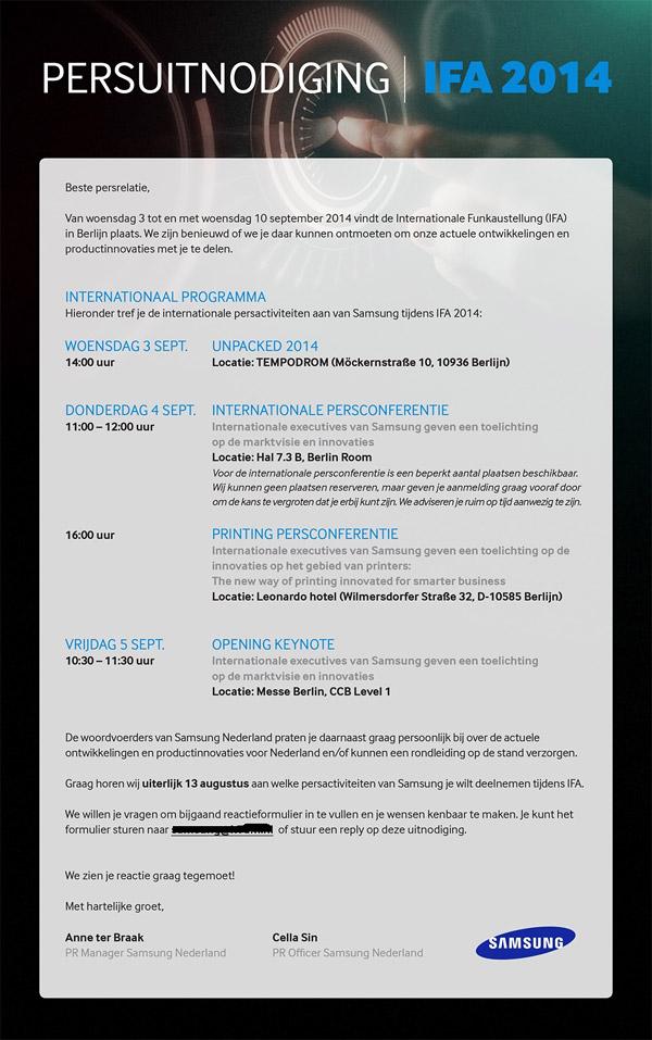 IFA Berlin 2014 (agenda 001)