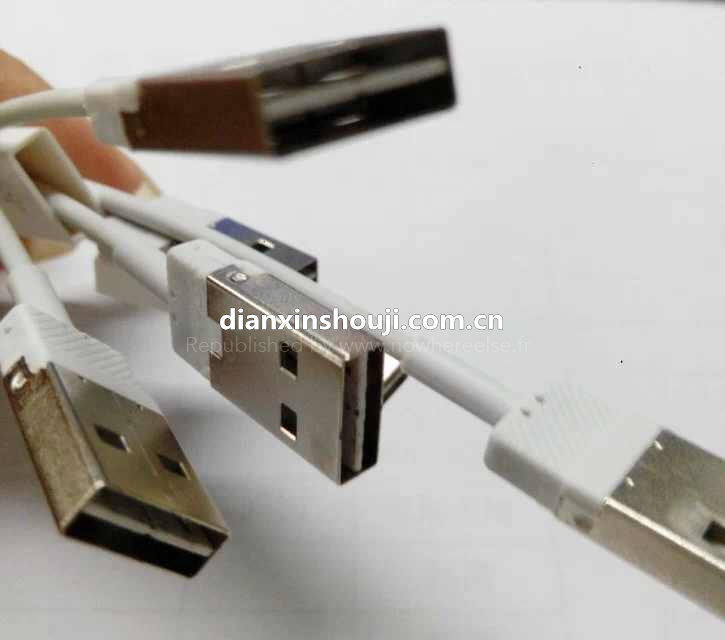 Lightning cable (reversible USB, NowhereElse 001)