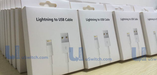 Lightning to USB cable (fully reversible, retail box, uSwitch 001)