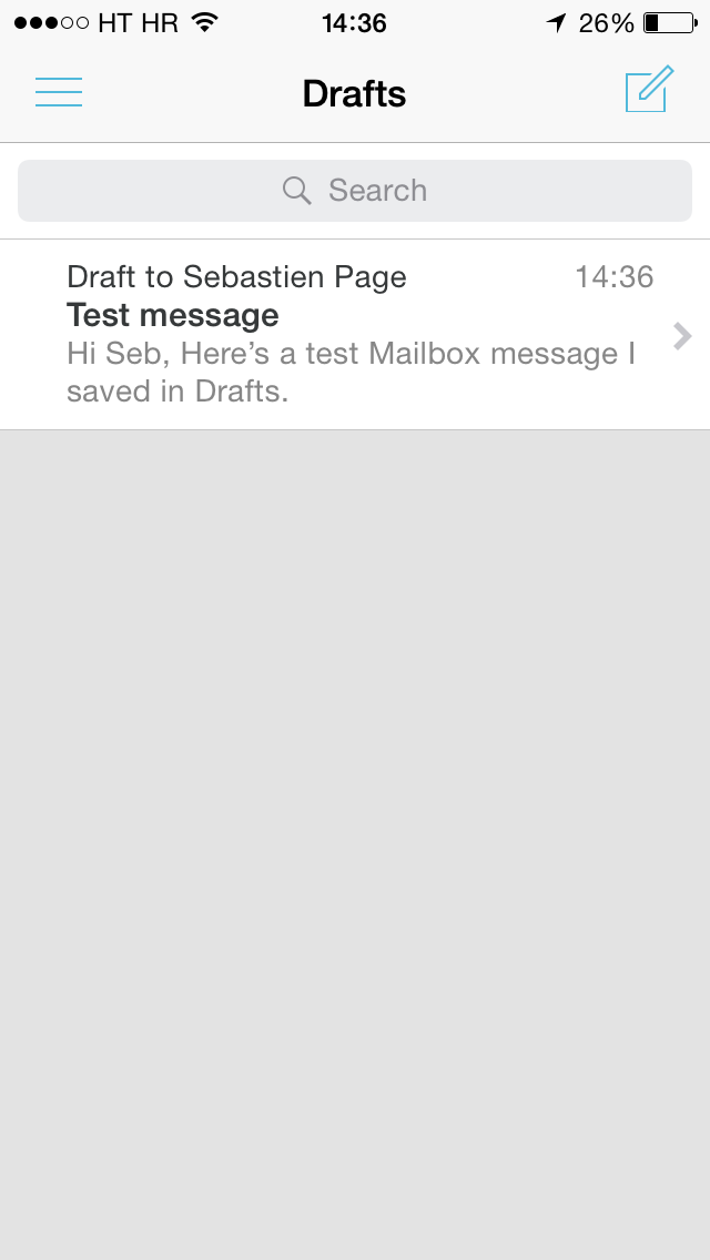 Mailbox 2.2 for iOS (iPhone screenshot 002)