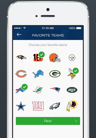 NFL Now 1.0 for iOS (iPhone screenshot 003)