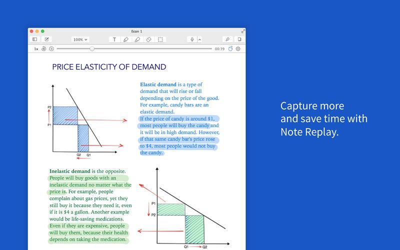 Notability for Mac 1.0 (screenshot 002)
