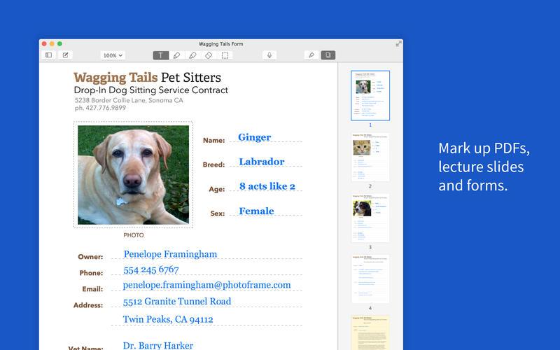 Notability for Mac 1.0 (screenshot 003)