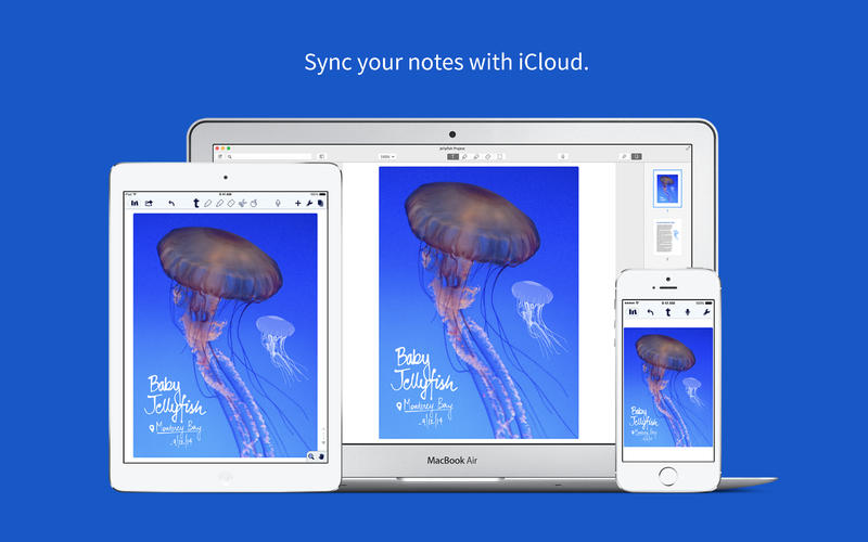 Notability for Mac 1.0 (screenshot 005)
