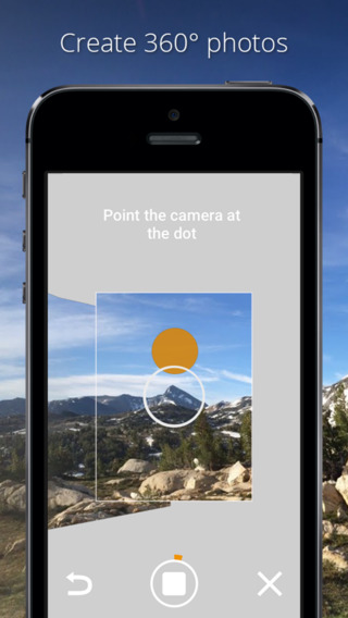 Photo Sphere Camera 1.0 for iOS (iPhone screenshot 001)
