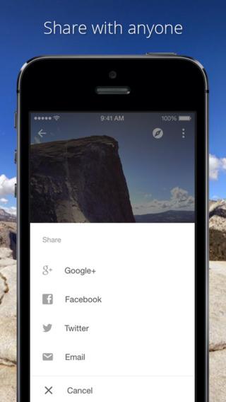 Photo Sphere Camera 1.0 for iOS (iPhone screenshot 004)
