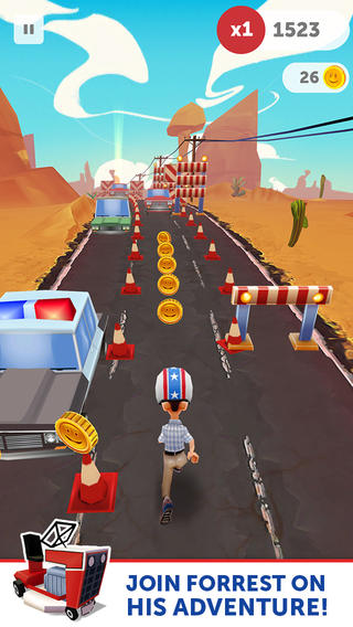 Run Forrest Run 1.0.5 for iOS (iPhone screenshot 001)