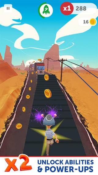 Run Forrest Run 1.0.5 for iOS (iPhone screenshot 003)