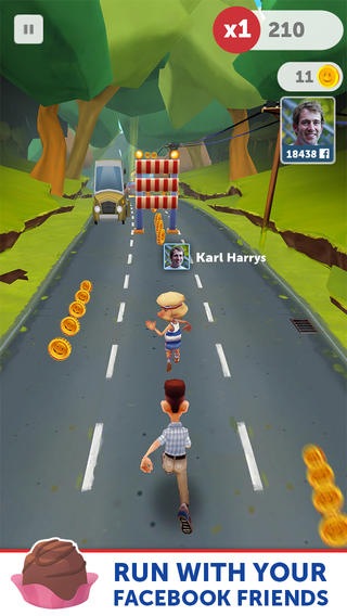 Run Forrest Run 1.0.5 for iOS (iPhone screenshot 004)