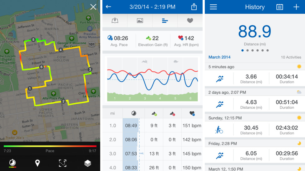 Runtastic Pro 5.2 for iOS (iPhone screenshot 001)