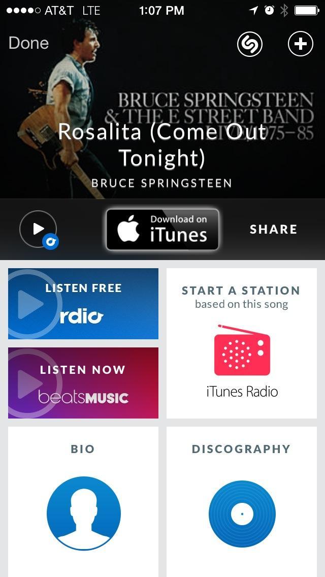 Shazam Beats Music (iPhon screenshot 001)