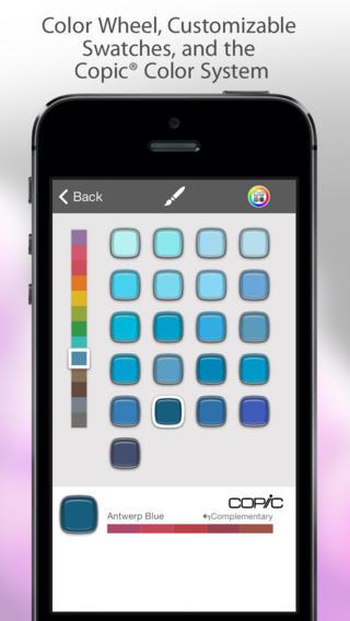 SketchBook Mobile 2.9.1 (iPhone screenshot 003)