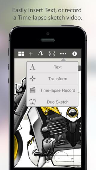SketchBook Mobile 2.9.1 (iPhone screenshot 004)