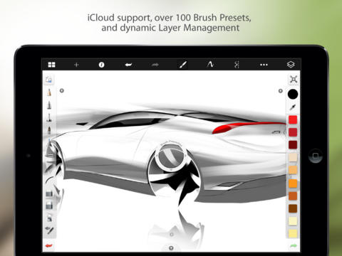 SketchBook Pro para iPad 2.9.1 (captura de pantalla 001)