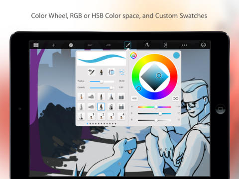 SketchBook Pro para iPad 2.9.1 (captura de pantalla 002)