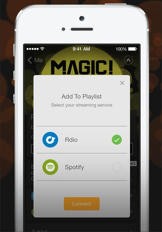 SoundHound 6.2 for iOS (iPhone screenshot 001)