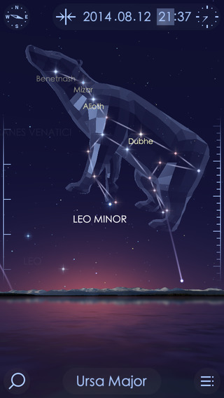 Star Walk 2 1.0 para iOS (captura de pantalla 001 de iPhone)