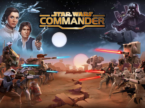 Star Wars - Commander 2.0.2 for iOS (iPad screenshot 001)