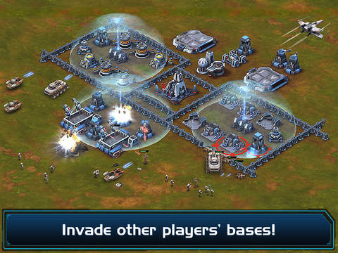 Star Wars - Commander 2.0.2 for iOS (iPad screenshot 004)