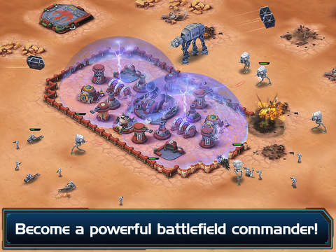 Star Wars - Commander 2.0.2 for iOS (iPad screenshot 005)