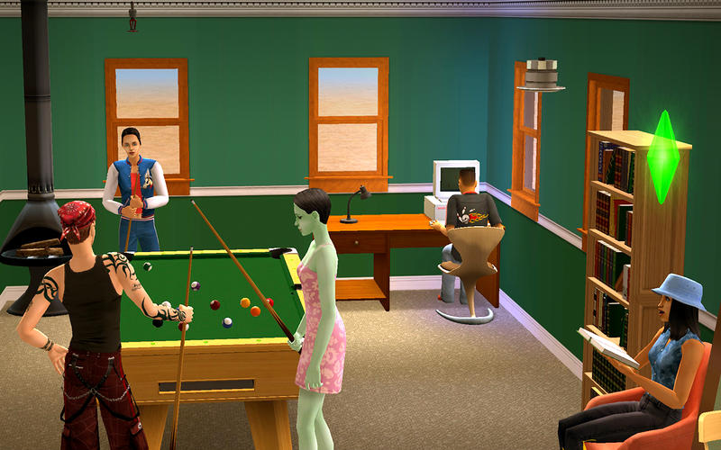 The Sims 2: Super Collection is available now in the Mac App