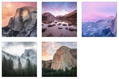 Yosemite wallpapers download