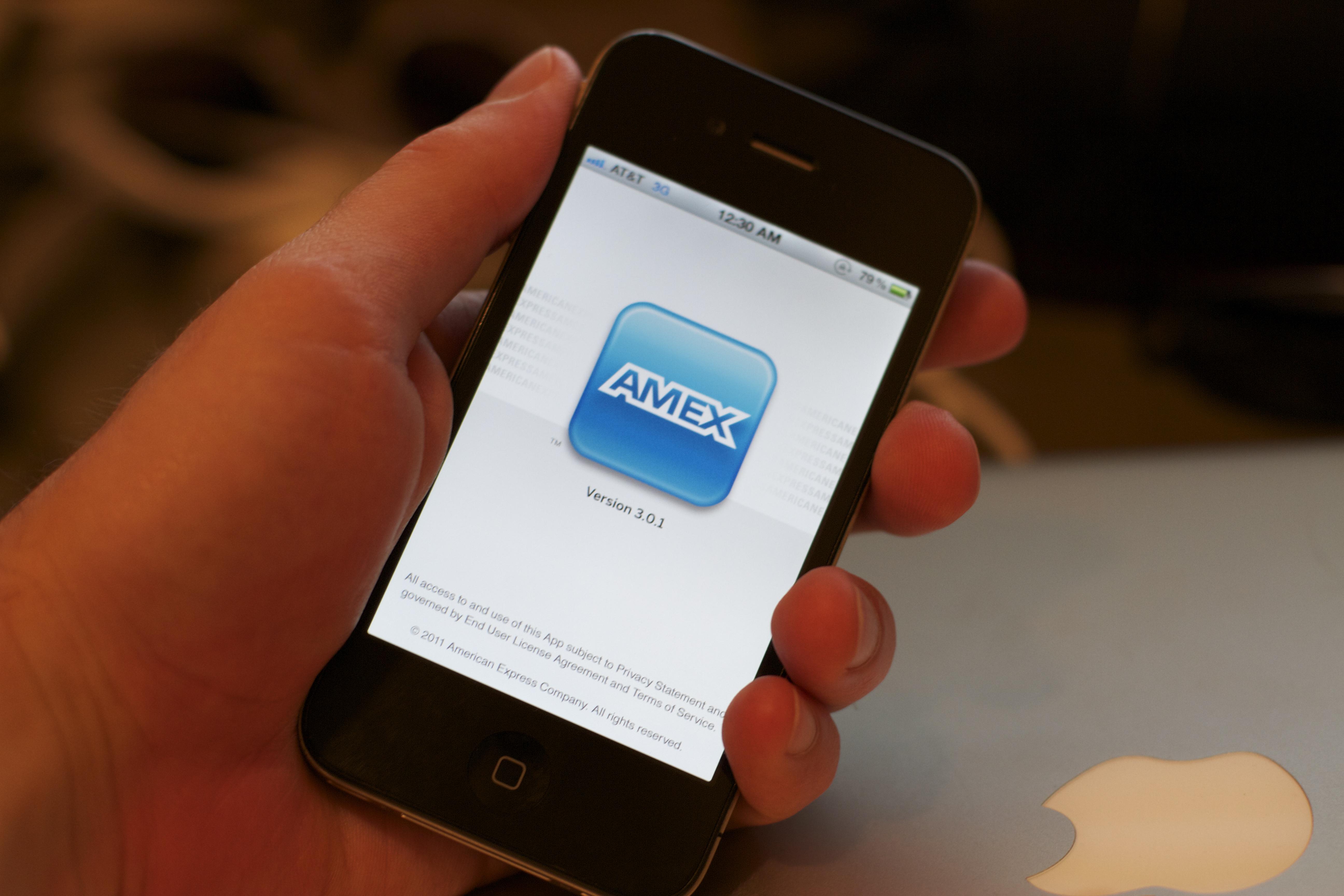 amex iphone