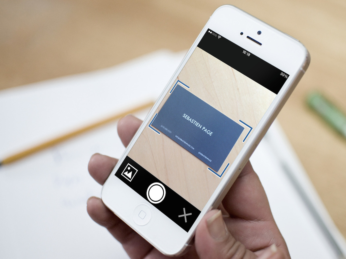 best business card reader scanner app iphone - Best Business Card Scanner