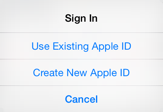create apple id with no credit card