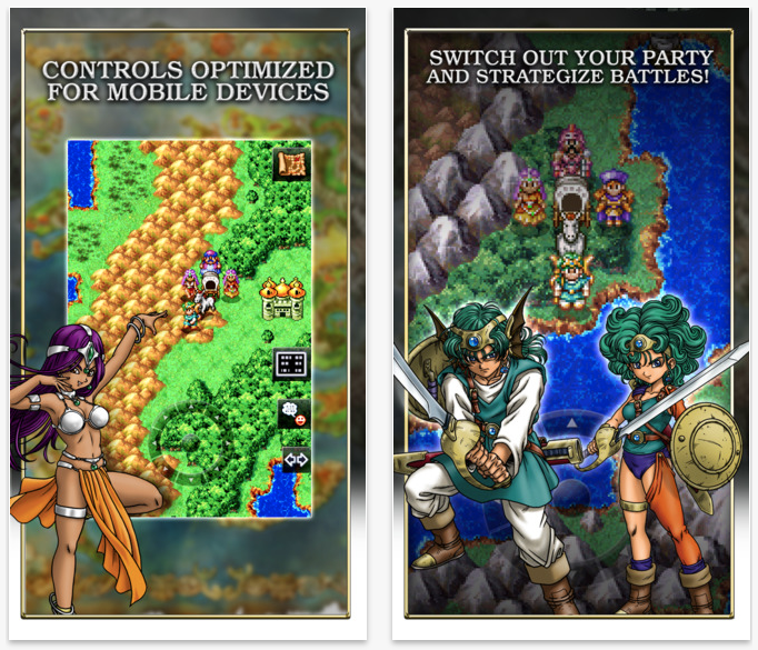 Classic RPG 'Dragon Quest IV' lands in the App Store