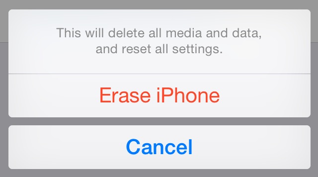 How to erase everything on your iPhone or iPad