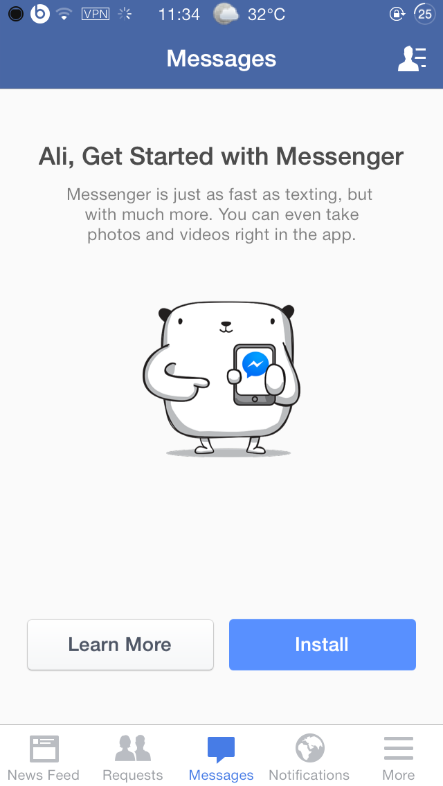 facebook-messenger-install