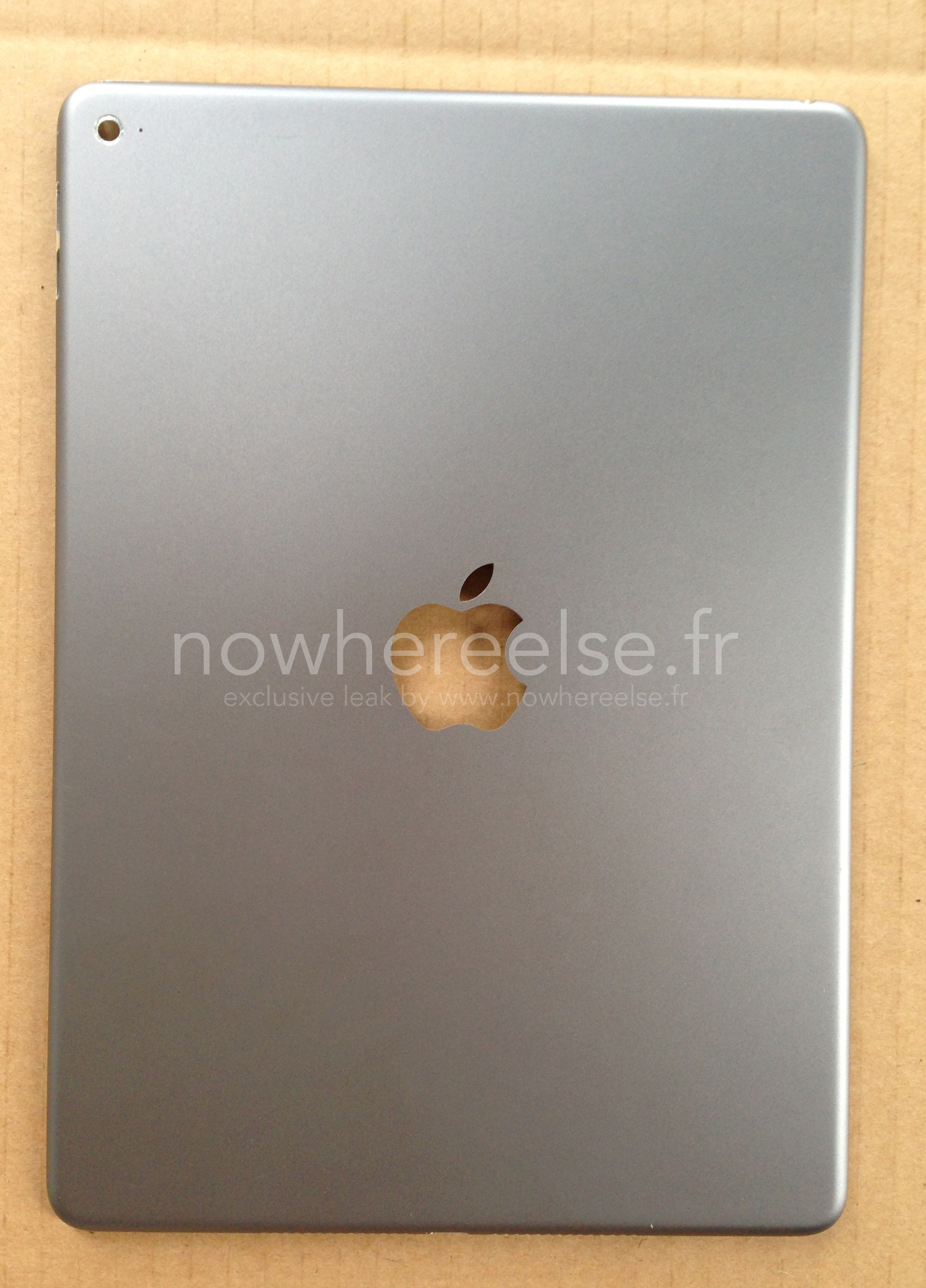 iPad Air 2 (rear panel, Nowhere Else 001)