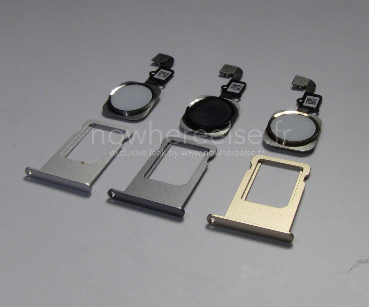 iPhone 6 (SIM tray and Home button, NowhereElse 003)